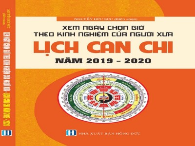 LỊCH CAN CHI (TỪ 2019-2020)